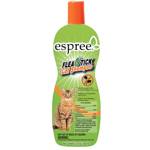 View larger image of Espree Flea & Tick Shampoo for Cats