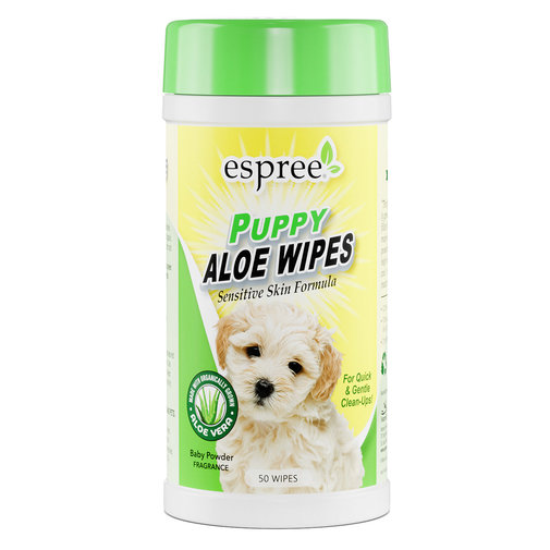 View larger image of Espree Puppy Aloe Wipes