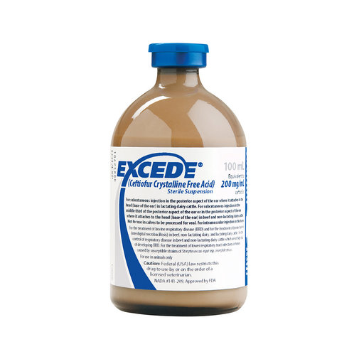 View larger image of Excede Sterile Suspension for Cattle Rx
