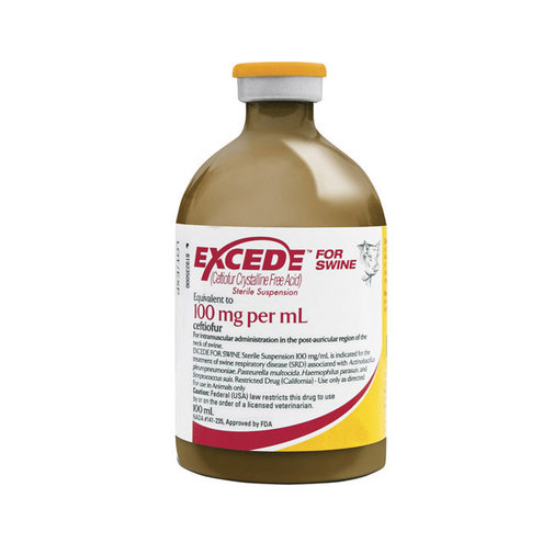 View larger image of Excede Sterile Suspension for Swine Rx