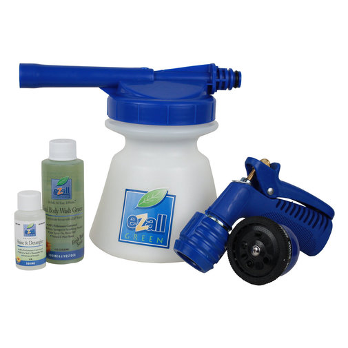 View larger image of eZall Green Foamer Bathing Kit