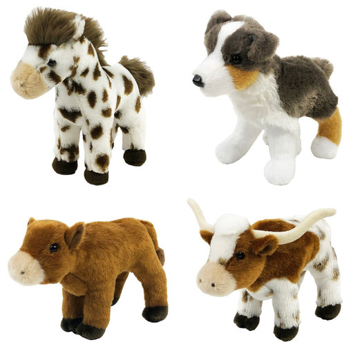 View larger image of Farm Animal Plush Toy for Children