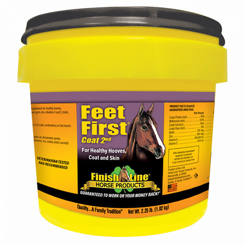 View larger image of Feet First Coat 2nd Horse Supplement