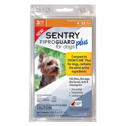 View larger image of Fiproguard Plus Flea and Tick Spot-On for Dogs