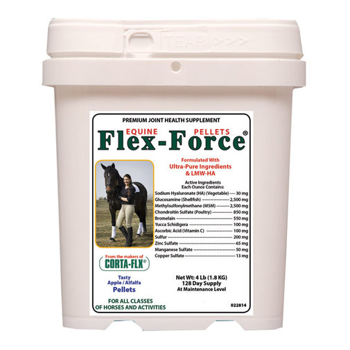 View larger image of Flex-Force Pellets with HA Joint Supplement for Horses