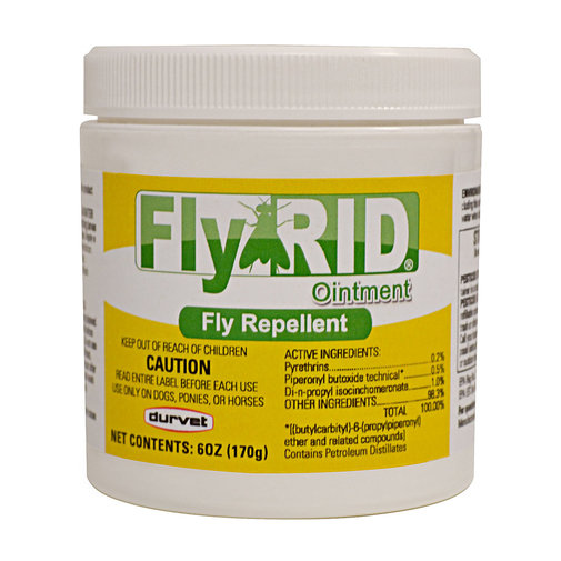 View larger image of FlyRID Ointment Fly Repellent for Horses and Dogs