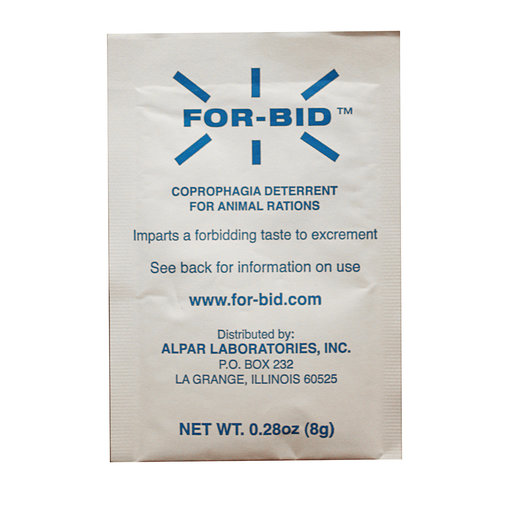 View larger image of For-Bid Coprophagia Deterrent for Animal Rations