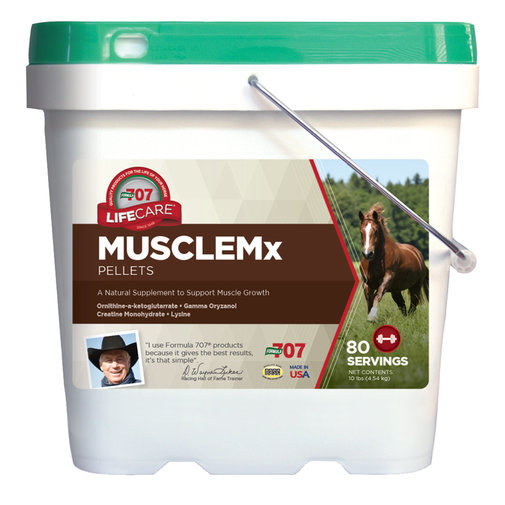 View larger image of Formula 707 MUSCLEMx Pellets Supplement for Horses