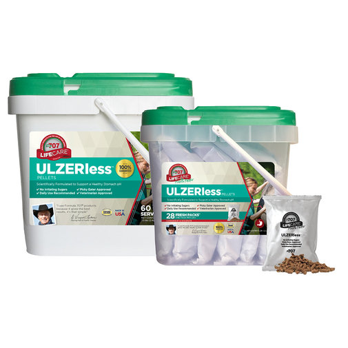View larger image of Formula 707 ULZERless Pellets Supplement for Horses