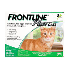 Frontline Plus Flea and Tick Spot-On for Cats