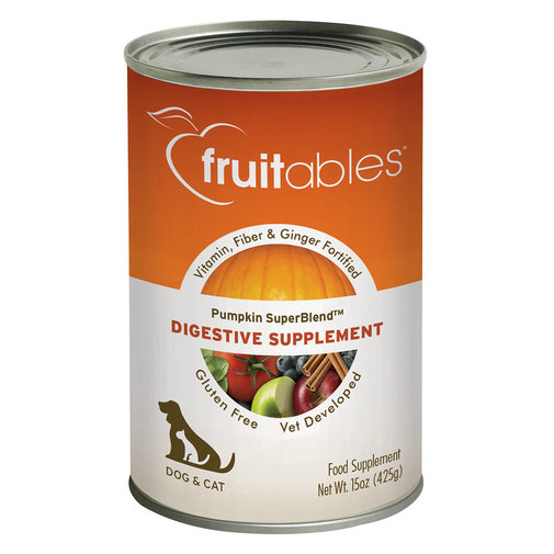View larger image of Fruitables Pumpkin SuperBlend Digestive Supplement for Dogs and Cats