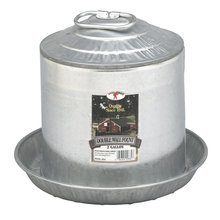 Galvanized Double Wall Fount