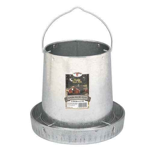 View larger image of Galvanized Hanging Feeder