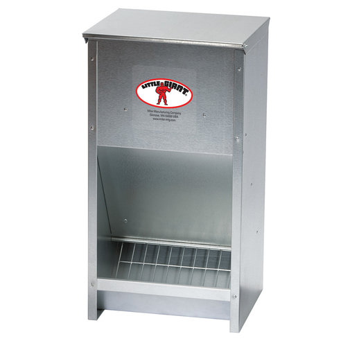 View larger image of Galvanized High-Capacity Poultry Feeder