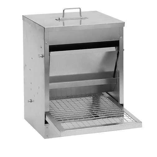 View larger image of Galvanized Treadle Poultry Feeder