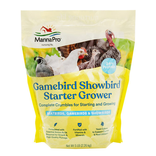View larger image of Gamebird/Showbird Complete Crumbles
