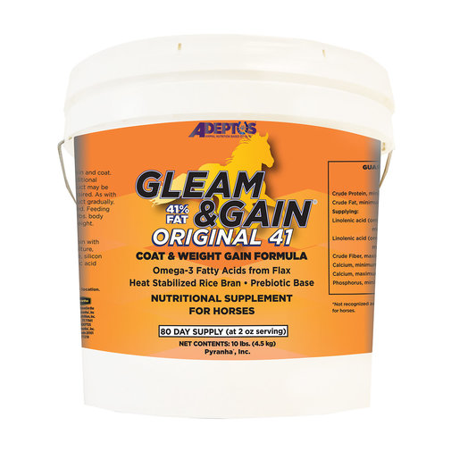 View larger image of Gleam & Gain Original 41 Nutritional Supplement for Horses