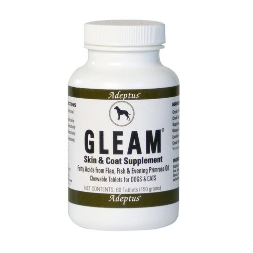 View larger image of Gleam Skin & Coat Supplement for Dogs & Cats