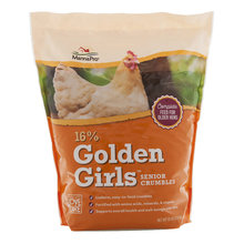 16% Golden Girls Senior Crumbles for Poultry