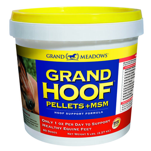 View larger image of Grand Hoof Pellets+MSM Hoof Support for Horses