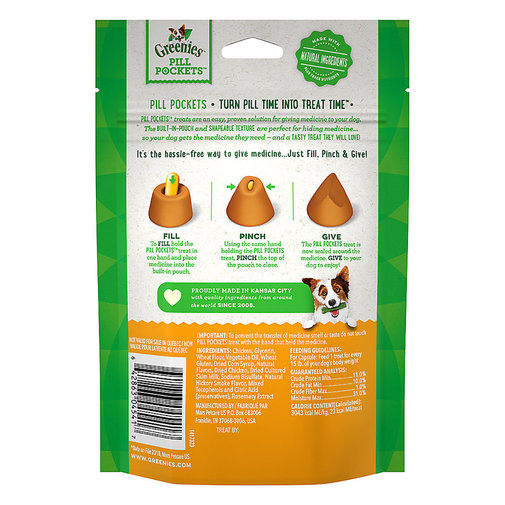 View larger image of Greenies Pill Pockets for Dogs