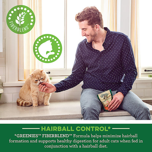View larger image of Feline Greenies Hairball Control Smartbites
