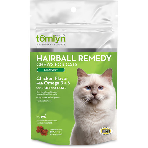 View larger image of Hairball Remedy Chews for Cats (Laxatone)