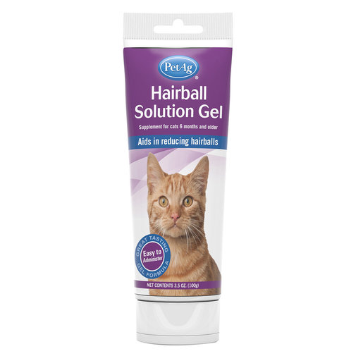 View larger image of Hairball Solution Gel for Cats
