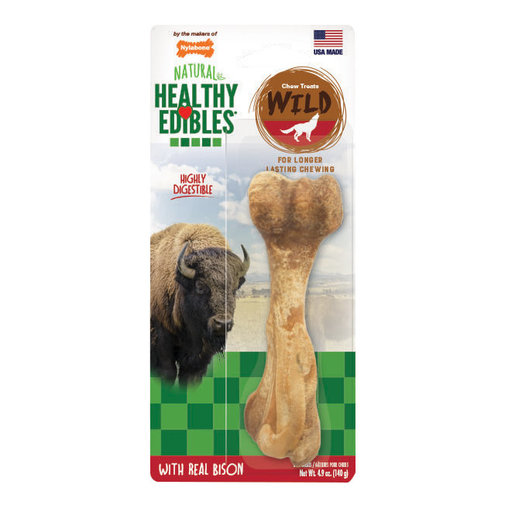 View larger image of Healthy Edibles Bison Wild Chew Treats