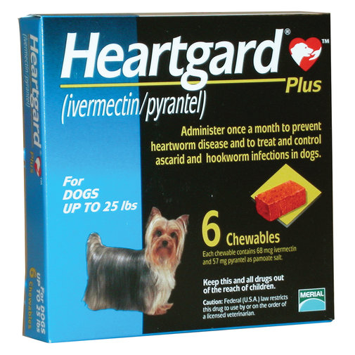 View larger image of Heartgard Plus Chewable for Dogs Rx