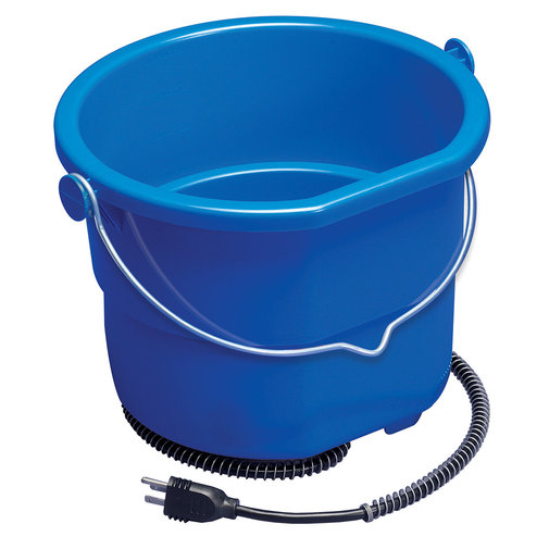 View larger image of Heated Flat Back Resilient Plastic Bucket