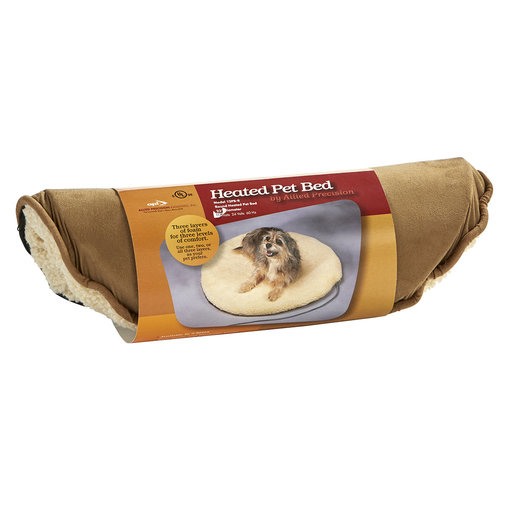 View larger image of Fleece-Top Heated Pet Bed