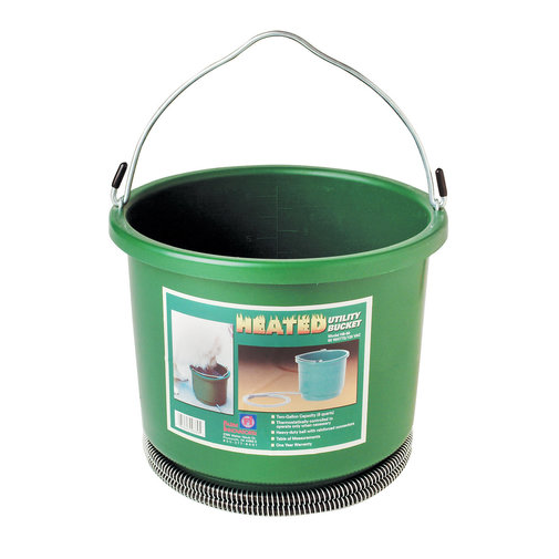 View larger image of Heated Plastic Bucket