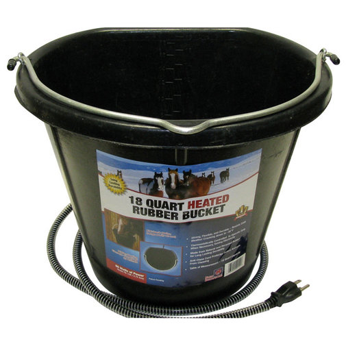 View larger image of Heated Rubber Flatback Bucket