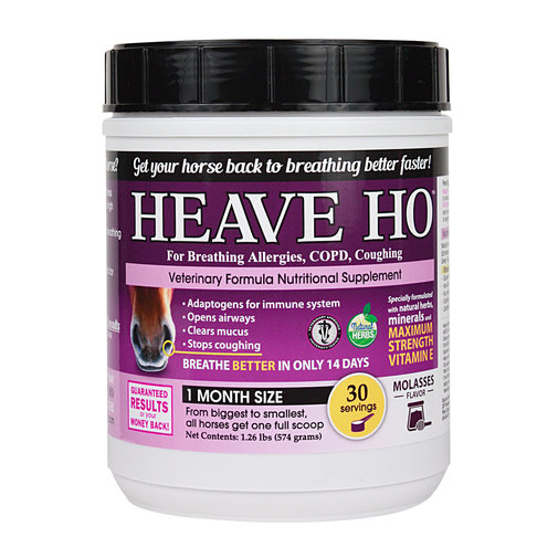 View larger image of HEAVE HO Horse Supplement for Allergies, COPD, Coughing