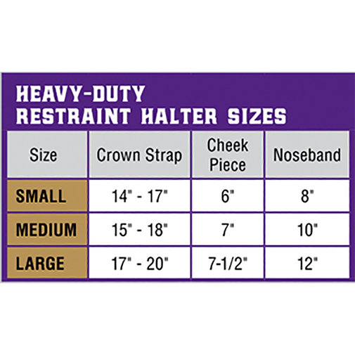 View larger image of Heavy-Duty Restraint Halter