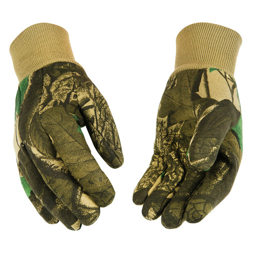 View larger image of Heavyweight Camouflage Jersey Gloves