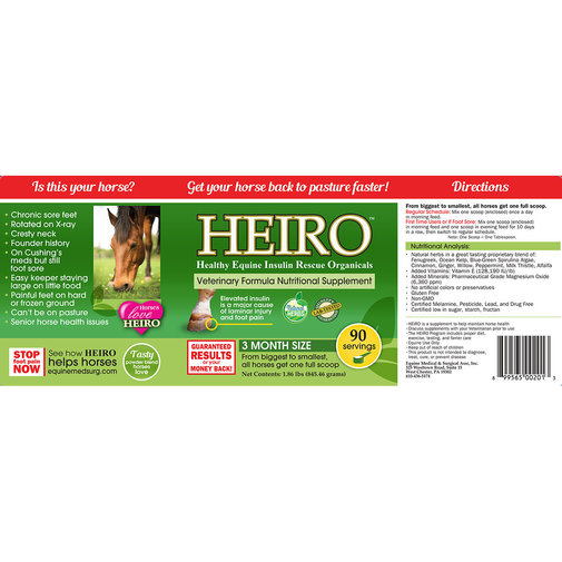 View larger image of HEIRO for Horses