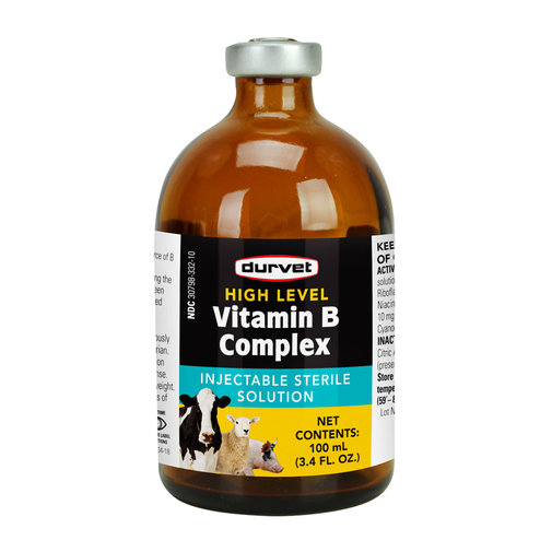 View larger image of High Level Vitamin B Complex Injectable for Livestock