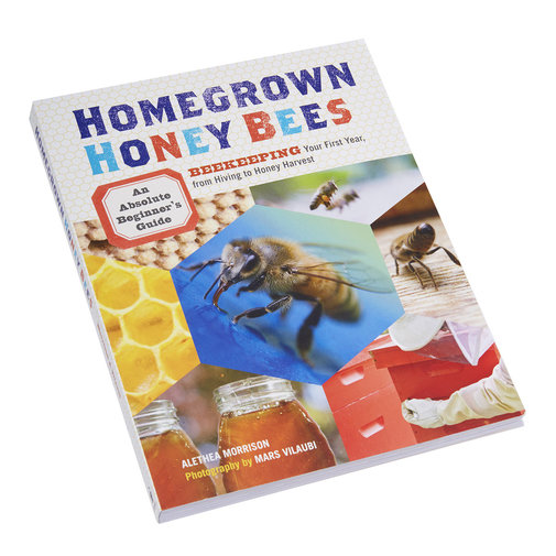 View larger image of Homegrown Honey Bees Book
