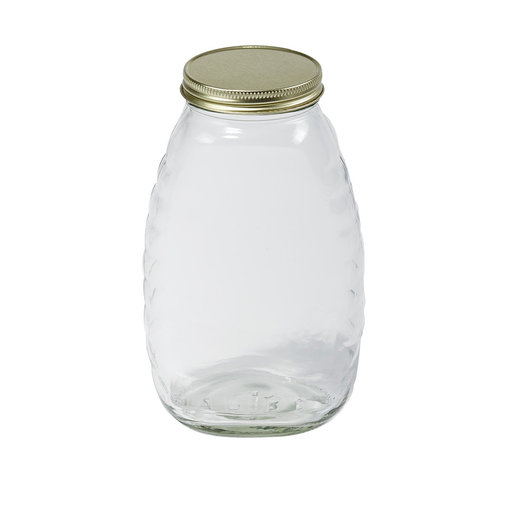 View larger image of Honey Jars with Glass Lid