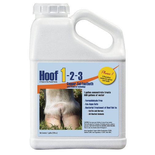 View larger image of HOOF 1-2-3 Phase 1 Copper-Soluble Footbath