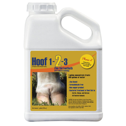 View larger image of HOOF 1-2-3 Phase 2 Zinc-Soluble Footbath