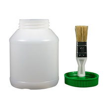 Hoof Oil Jar with Brush