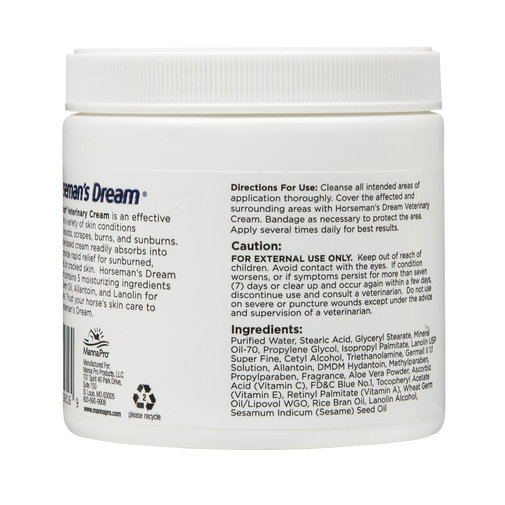 View larger image of Horseman's Dream Veterinary Cream with Aloe Vera