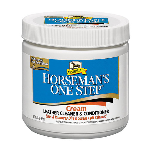 View larger image of Horseman's One Step Leather Cleaner & Conditioner Cream