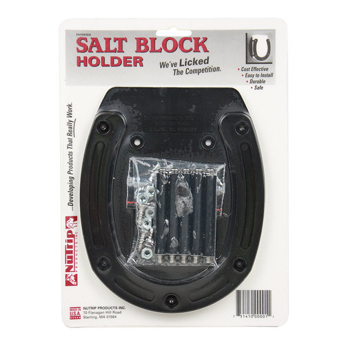 View larger image of Horseshoe-Shaped Salt Block Holder