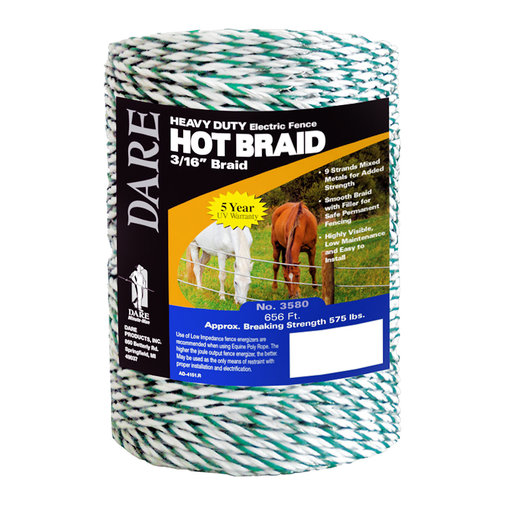 View larger image of Hot Braid Heavy-Duty Electric Fence