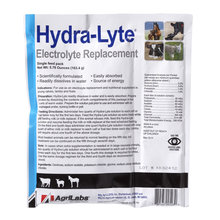 Hydra-Lyte Electrolyte Replacement for Young Calves, Lambs, Kids and Foals