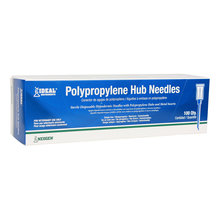 Ideal Disposable Poly Hub Needles